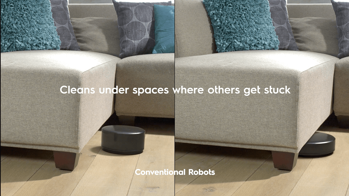 Comparisons of 2 different robot vacuums