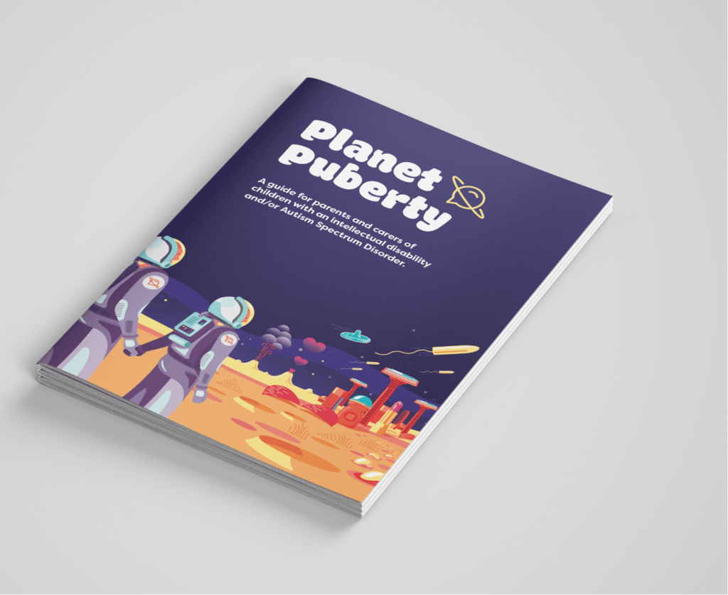 Planet Puberty Brochure Cover