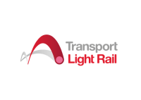light rail transport logo